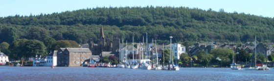 Kirkcudbright Marina and River